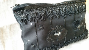 Clutch MarjoleinvdHeide haute couture embroidery technique